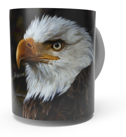 EAGLE COFFEE MUGS-Art by Carl Brenders