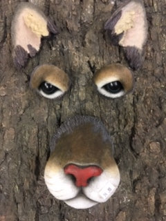 Cougar Tree Face