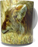 COYOTE COFFEE MUG-Art by Carl Brenders