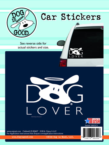 Dog Lover Car Sticker