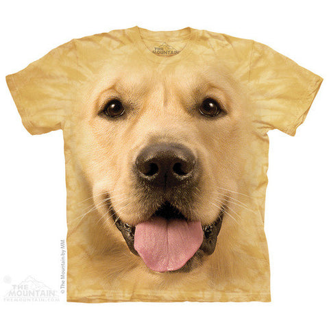 Big Face Golden Retriever T-Shirt