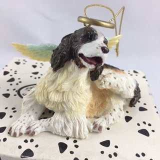 Springer Spaniel Angel Dor Ornament