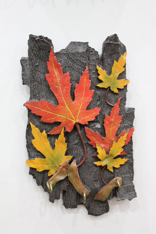 Maple Leaf Key Holder Tall