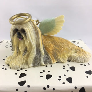 Lhasa Apso Angel Dog