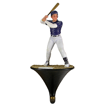 Baseball Player Wall Hook