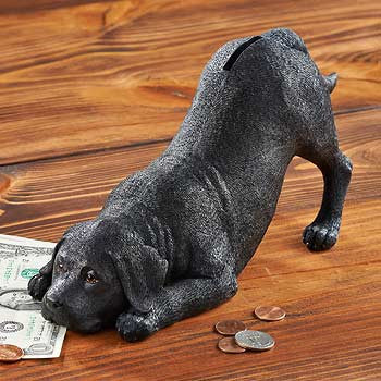 Black Lab Money Bank