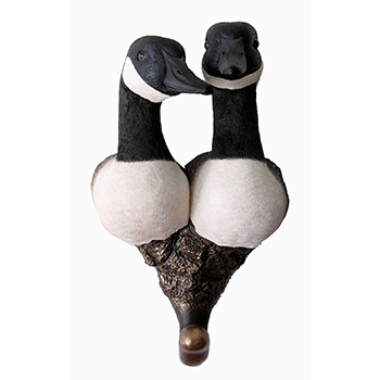 Canadian Geese Wall Hook