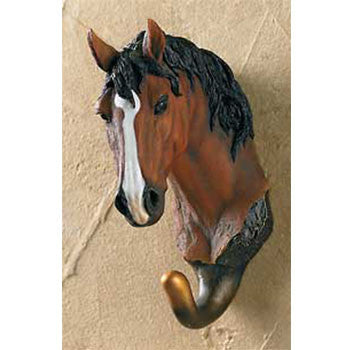 Chestnut Horse Wall Hook Nature's Window