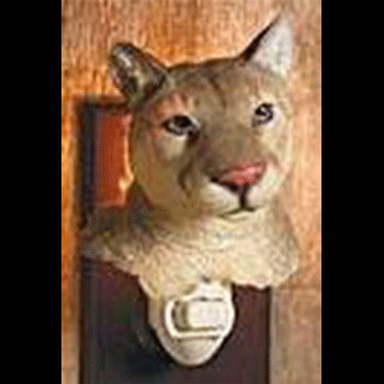 cougar night light