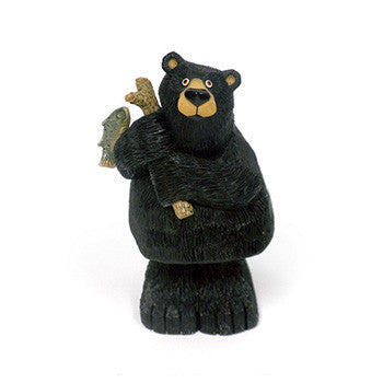 Wobble Fishing Bear with Rod