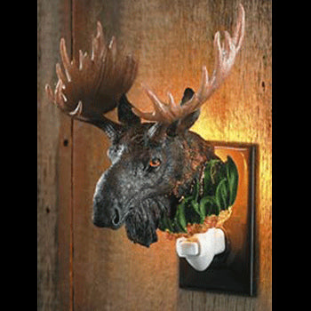 Moose Night Light