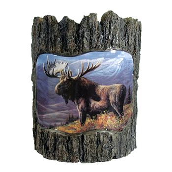 moose votive candle holder natures window