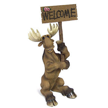 Large Welcome Moose