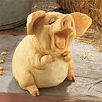 Parsnip Pig Bank Medium