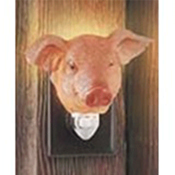 pig night light