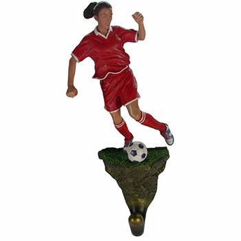 Soccer Girl Wall Hook