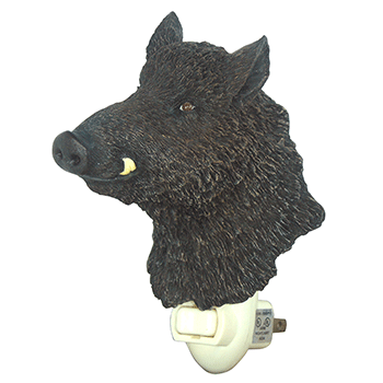 wild boar night light