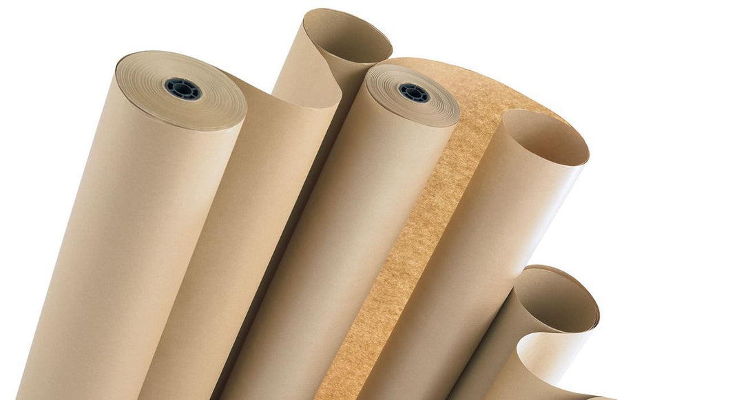 Brown Kraft Paper 150m Rolls 140g for packaging