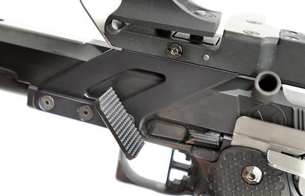 AlexRest thumb rest for 1911/2011 pistols