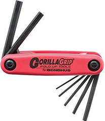 7 pc Bondhus Gorilla Grip Hex Keys Metric