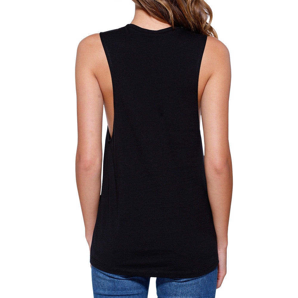 23cc0791 Gym Rat Work Out Muscle Tee Women's Workout Tank Gym Sleeveless Top ...