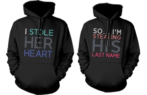 romantic hoodies for couples