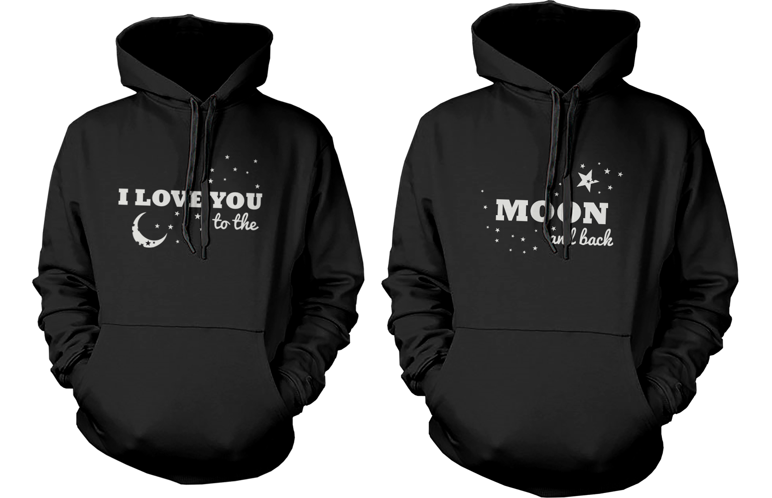 06d9fac64 couple hoodie - I love you to the moond and back 365inlove