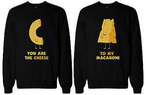 You're the Cheese to My Macaroni BFF Matching SweatShirts for Best Friend - 365INLOVE