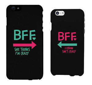 BFF Mint Pink Arrow Cute BFF Mathing Phone Cases For Best Friends - 365INLOVE