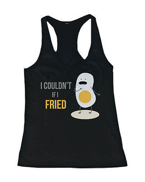 Don't Go Bacon My Heart, I Couldn't If I Fried Matching Couple Tank Tops - 365INLOVE