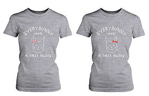 Cute Best Friend Shirts - Everybunny Needs a Best Bunny Matching BFF Shirts - 365INLOVE