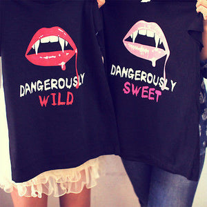 Best Friend Dangerously Sweet and Wild Best Friends Matching BFF Shirt - 365INLOVE