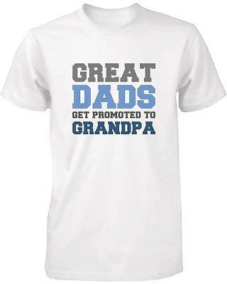 33aeaa4ba Grandpa Shirt Great Dads Get Promoted to Grandpa - Grandparent Gifts ...