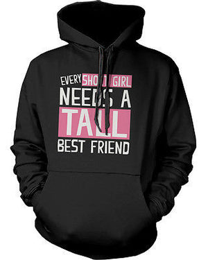 BFF Accessories BFF Pullover Hoodies for Tall and Short Best Friends - 365INLOVE