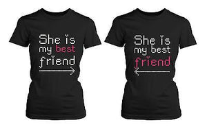 BFF Matching Shirts - She's My Best Friend with Arrows - Gift for BFF - 365INLOVE