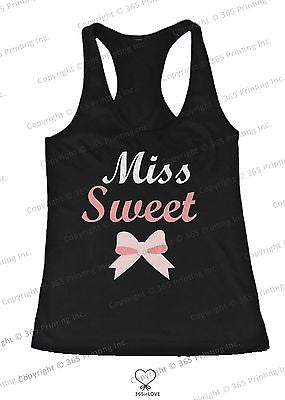 BFF Tank Tops Miss Wild and Miss Sweet Matching Shirts for Best Friends - 365INLOVE