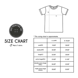 Funny Graphic Tees Men's White Cotton T-shirt - Last Clean Shirt - 365INLOVE
