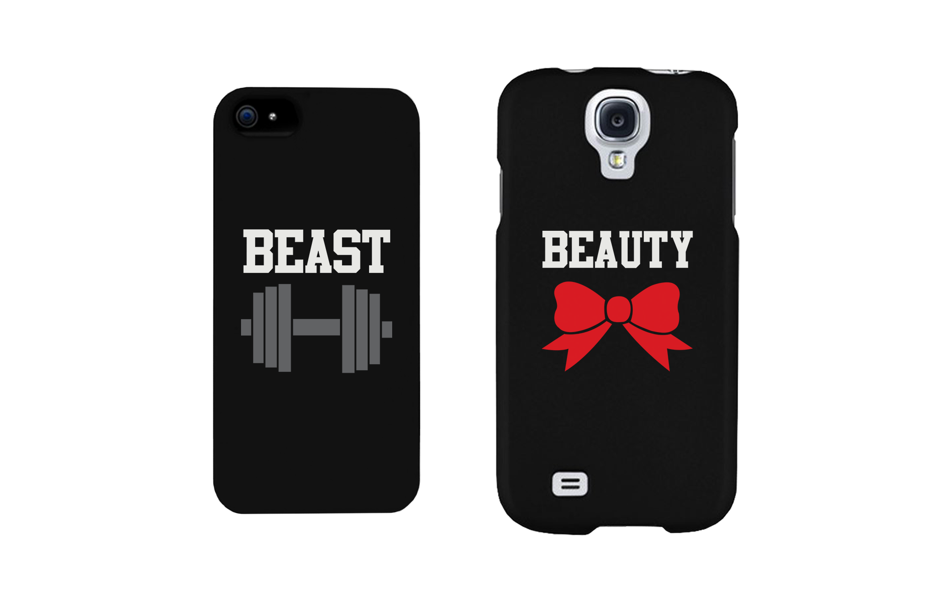 5ec74d7e Beauty and Beast Cute Matching Couple Phone Cases Great Gift for Couples -  365INLOVE