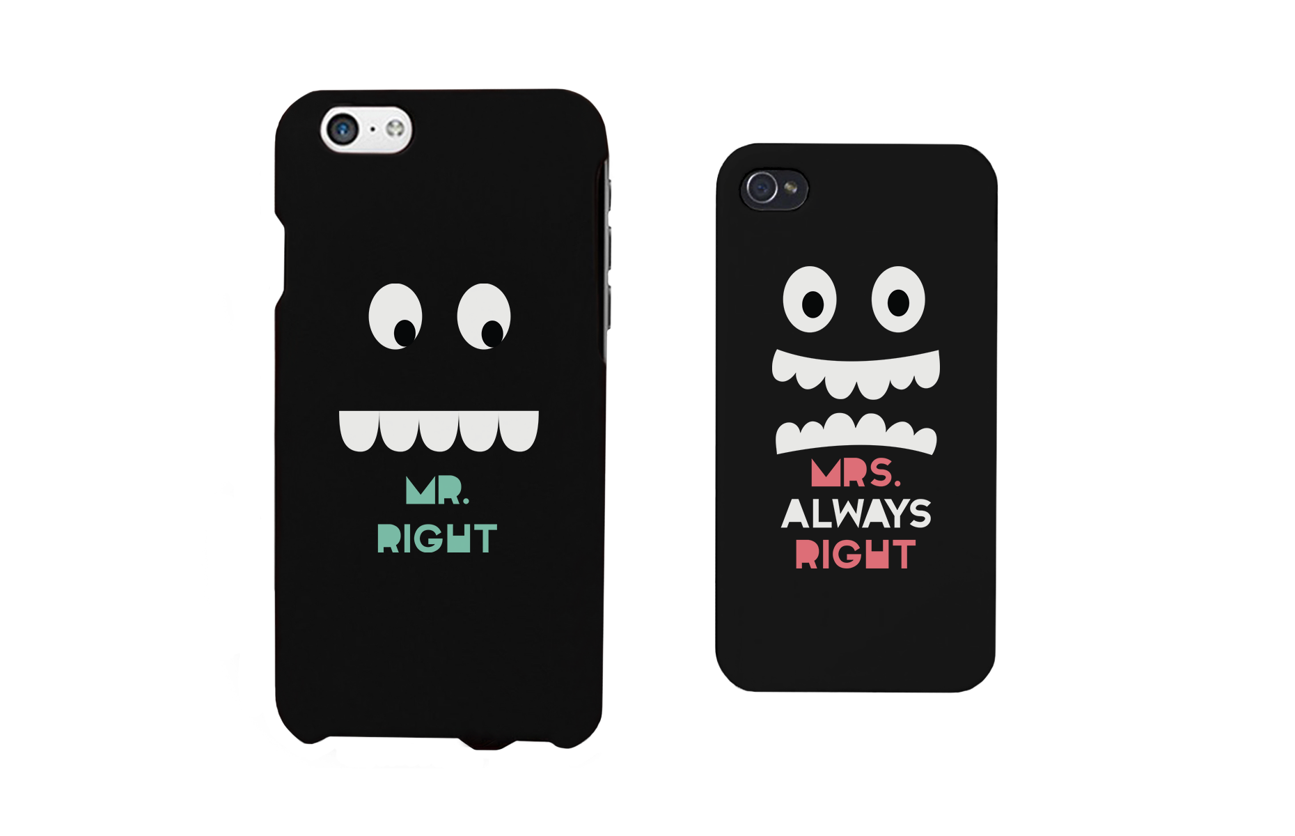 7265ce9e7dc6b Mr Right and Mrs Always Right Matching Couple Phone Cases Gift for couples