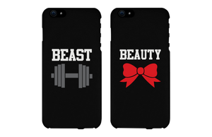 beauty and beast iphone 6 plus cases for couples