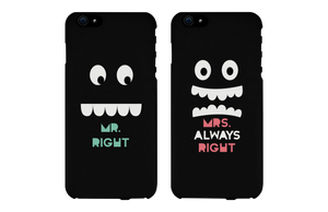 mr right mrs always right phone cases