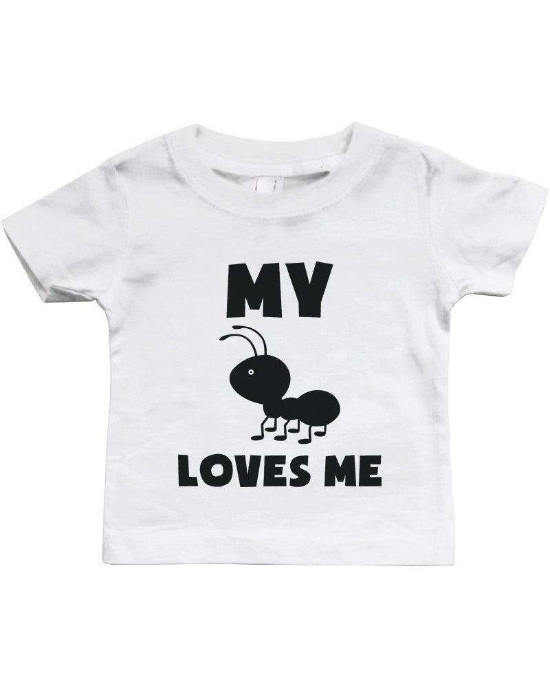 My Aunt Loves Me Funny Baby Shirts Gifts For Niece Or