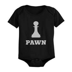 Chess Pieces Family Matching Shirts King Queen Parents and Pawn Infant Bodysuit - 365INLOVE