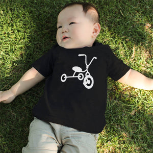 Bicycle And Tricycle Dad and Baby Matching T-shirts - 365INLOVE