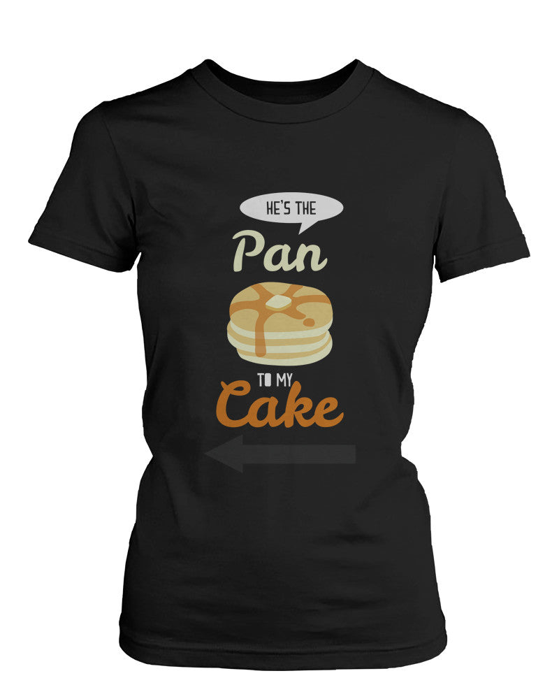 b2753efd70 French Toast and Pancake Cute Couple Shirt His and Hers Funny ...