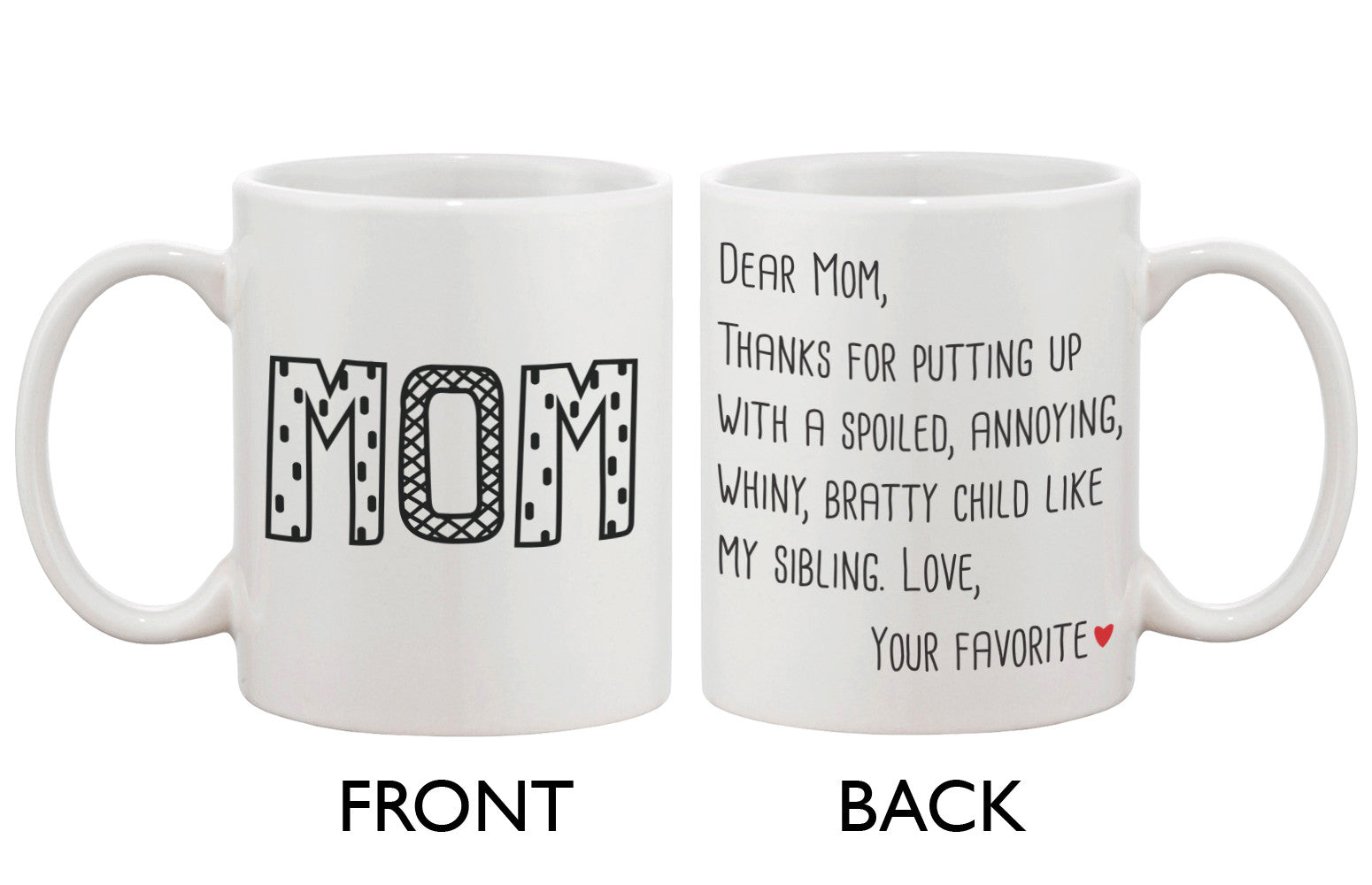 Mother S Day Mugs 365 In Love Matching Gifts Ideas