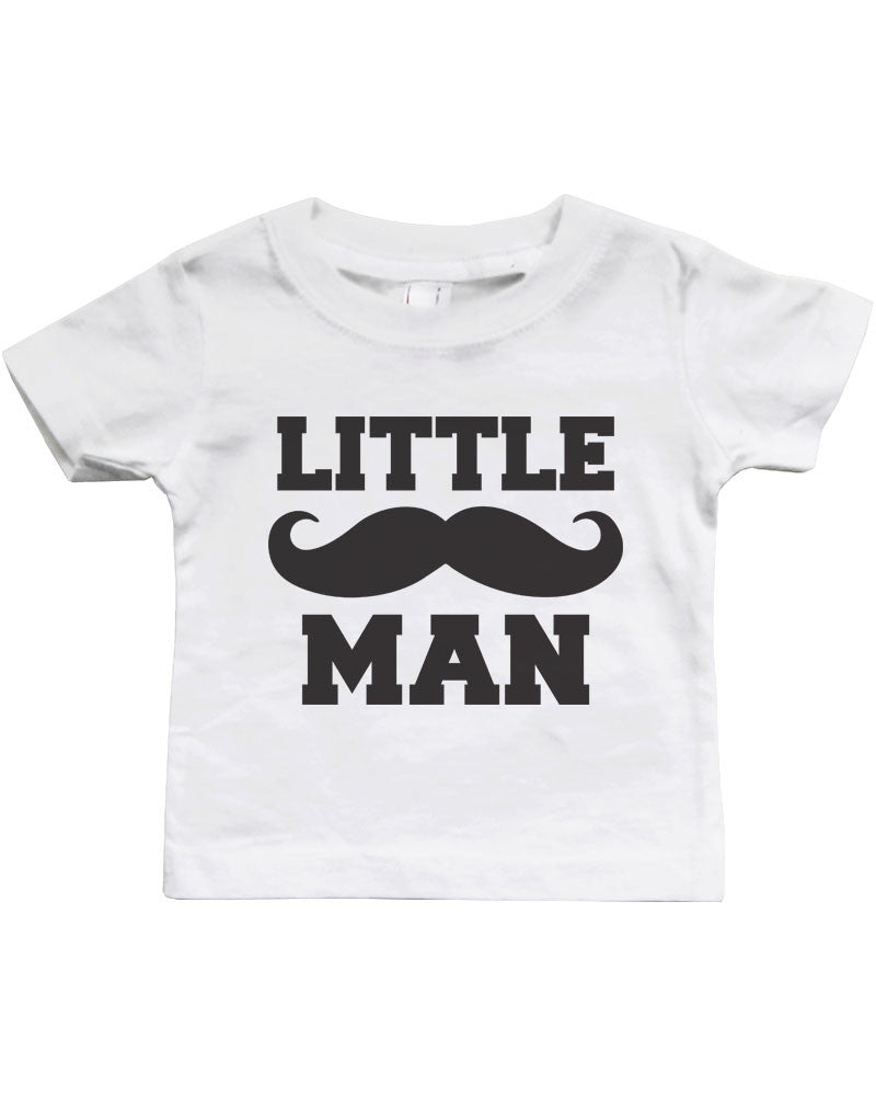 Matching Daddy T-Shirts and Infant Tees Big /& Little Man