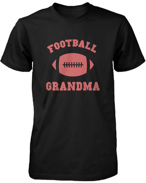 Football Grandma Graphic Shirts Cute Christmas Gifts Ideas for Grandmother - 365INLOVE