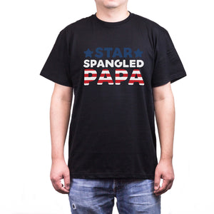 Star Spangled Papa Cute T-shirt