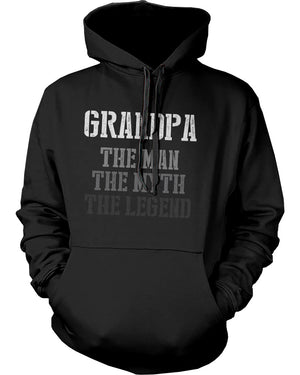 The Man Myth Legend Hoodies for Grandpa Christmas Gifts ideas for Grandfather - 365INLOVE